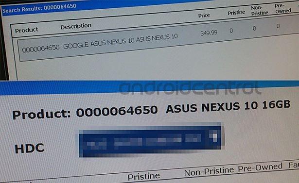 次期Nexus 10、ASUS製で16GBが350ポンドか