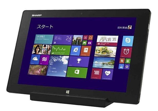シャープ、Windowsタブレット『Mebius Pad』ブランドを発表―ドコモLTE対応