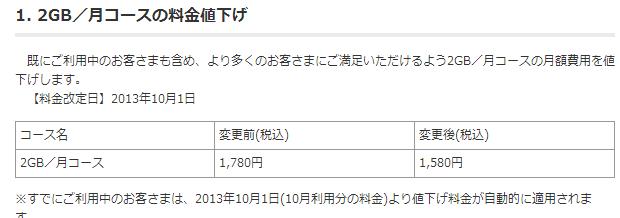 『OCN モバイル ONE』が値下げ、IIJmioより16円安く―ドコモMVNO格安SIM