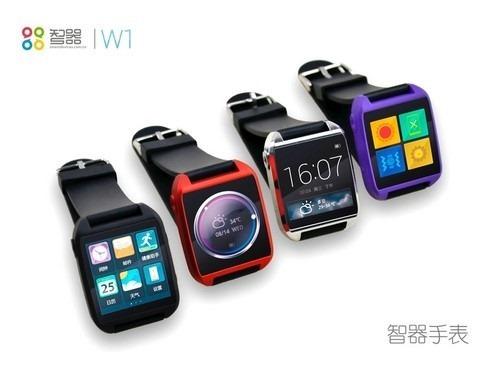 智器、1.55型Android4.1スマートウォッチ『W1』9月下旬に発売か