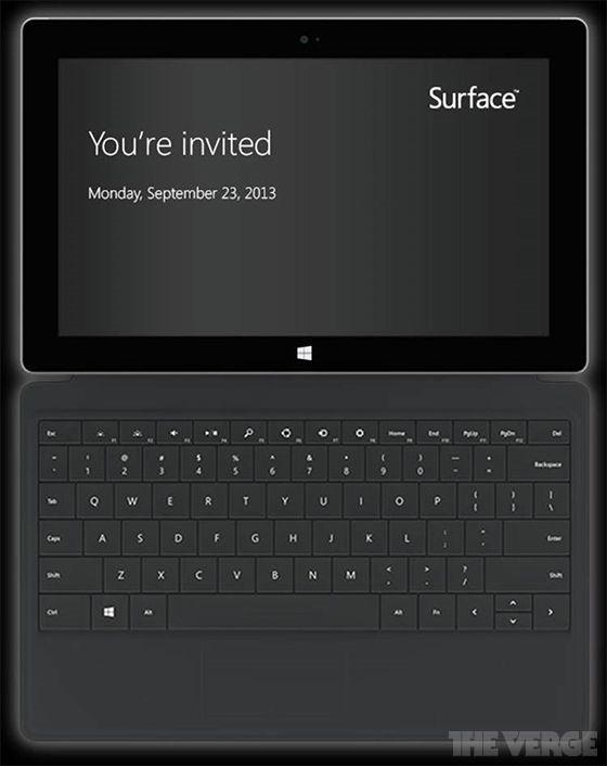 次期『Surface』、10月22日に発売か―容量と価格がリーク