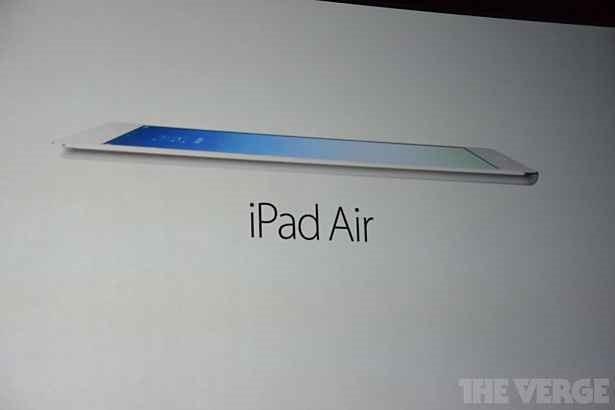 Apple、第5世代iPad 『iPad Air』を発表―価格499ドルで11月1日発売