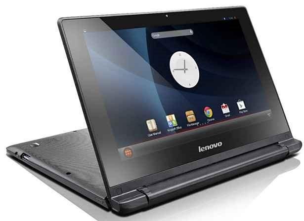 Lenovo、最大300度回転するAndroidノートブック『IdeaPad A10』発表―タブレットにはならず