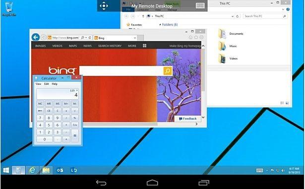 MS、Android向けリモートデスクトップ「Microsoft Remote Desktop」提供開始