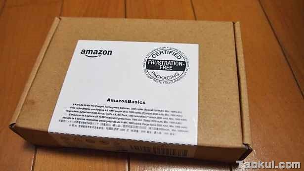 「Amazonベーシック 充電式ニッケル水素電池」を購入、開封レビュー