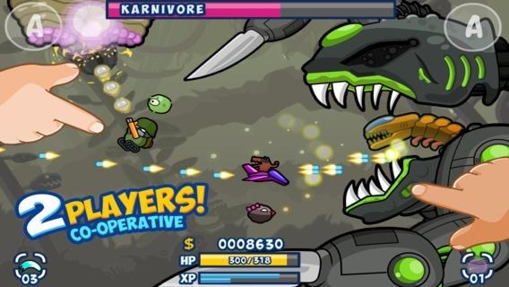 2人プレイがアツい、シューティングiOSアプリ『Toon Shooters』が無料セール中