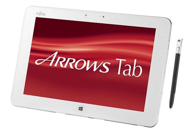 富士通、筆圧感知10型Windows 8.1防水タブレット『ARROWS Tab QH55/M』を発表―スペック表