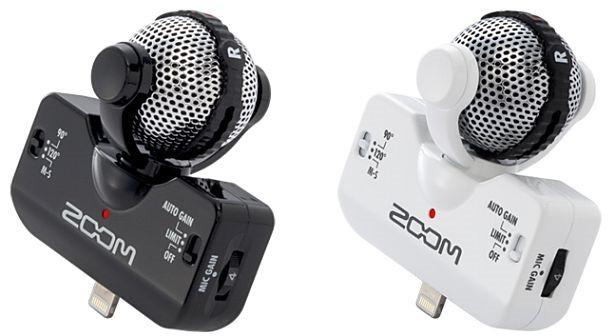 ZOOM、iPad/iPhone用コンデンサーマイク『iQ5』を発売