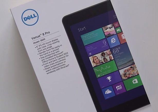 (ライブ配信)「Dell Venue 8 Pro」と「Lenovo miix 2」の8インチWindowsタブレット比較