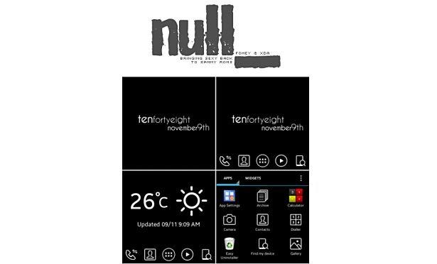 『Galaxy Gear』カスタムROM「null_」はブラウジングや独自ランチャー対応