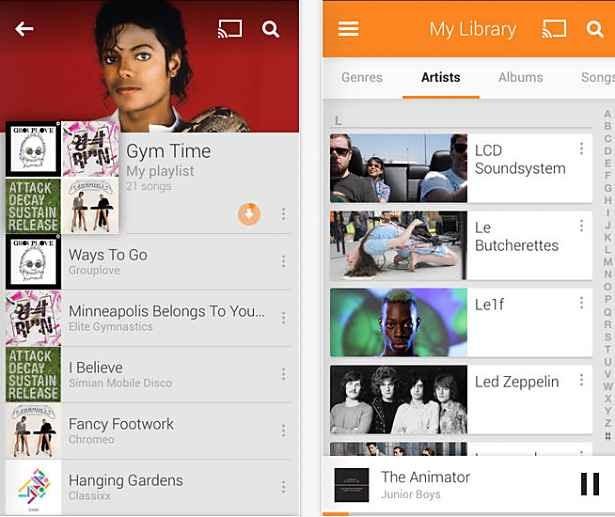 無料で2万曲アップロードできる「Google Play Music」のiOSアプリがリリース