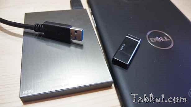 Venue 8 Pro レビュー15―ポータブルディスクと外付けDVDは動くか