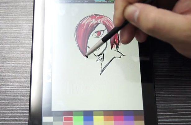 筆圧感知7インチTegra 4『TEGRA NOTE』のお絵かき動画、ゲーム動作テストも