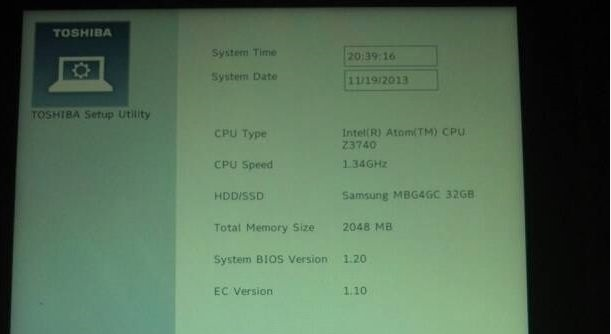 東芝Encore(dynabook Tab VT484)はGPS「Broadcom BCM4752」搭載
