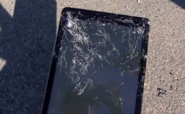 「iPad Air」の落下テスト動画