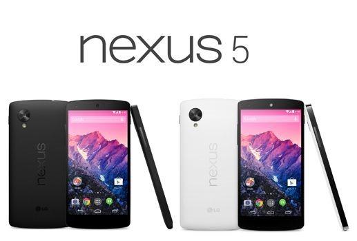 イー・モバイル版「Nexus 5」は11/15発売、価格と違い