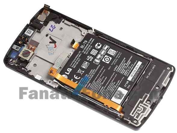 未発表『Nexus 5』を分解したとされる画像