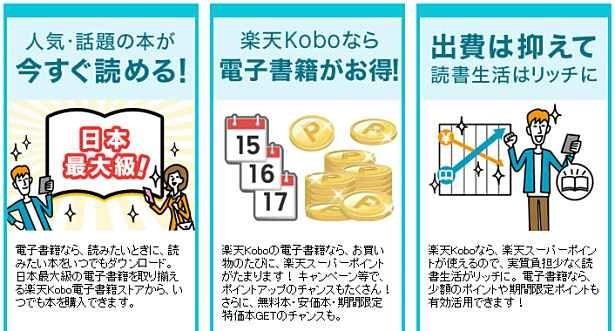 楽天ブックス、電子書籍の取扱い開始―「楽天Kobo電子書籍ストア」開設