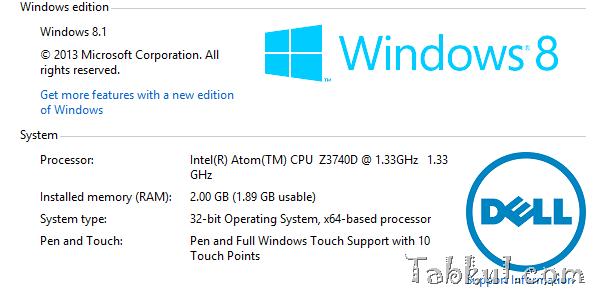 Venue 8 Pro 購入レビュー02―CrystalDiskMarkベンチマーク結果やディスク空き容量ほか