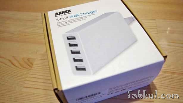 『ANKER 5ポート USB充電器』購入、開封レビュー/感想など