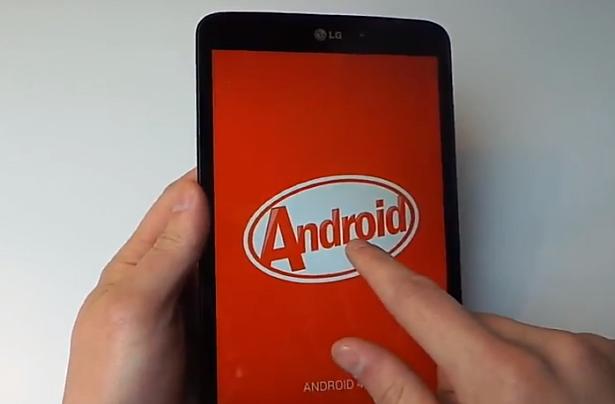 『LG G Pad 8.3 Google Play Edition』の開封動画―海外レビュー