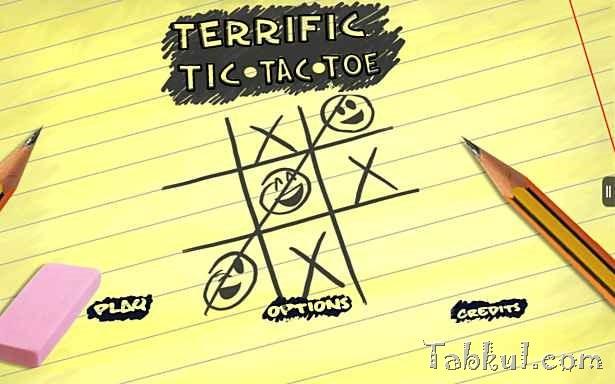 価格 85円、マルバツゲーム「Terrific Tic Tac Toe HD」の試用レビュー
