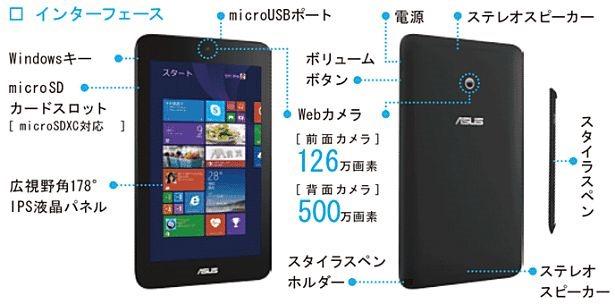 ASUS VivoTab Note 8(M80TA-DL64S)購入、注文した理由