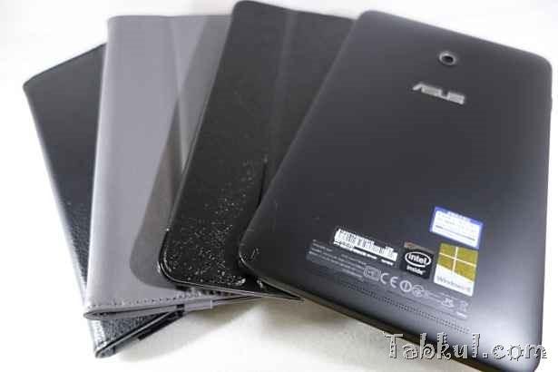 VivoTab Note 8 レビュー10―8インチ用ケース3種を試す