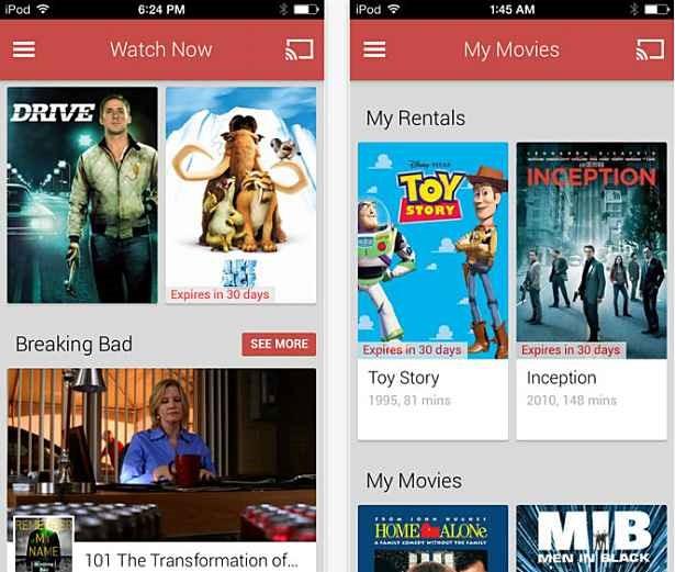 Google、iOSアプリ『Google Playムービー&TV』リリース―iPad/iPhoneでGoogle Playのコンテンツを楽しめるアプリ