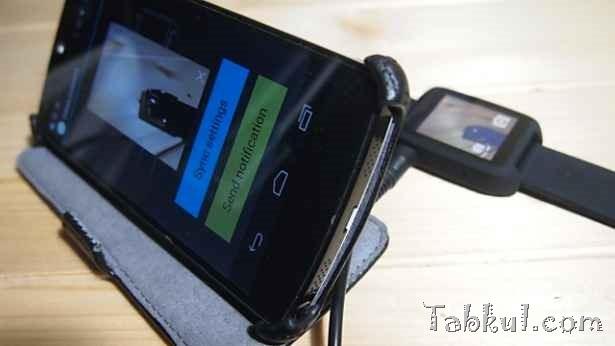 中華スマートウォッチ『SmartQ ZWatch』レビュー04―Nexus 5とBluetooth接続する