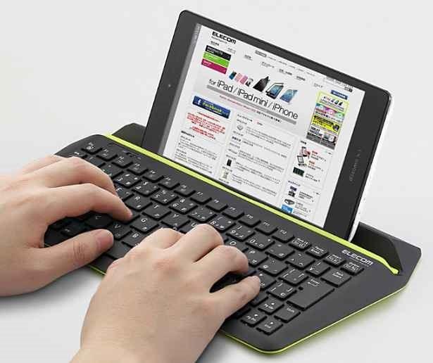 エレコム、Windowsタブレット用キーボード『TK-FBP067BK』発表―価格と機能