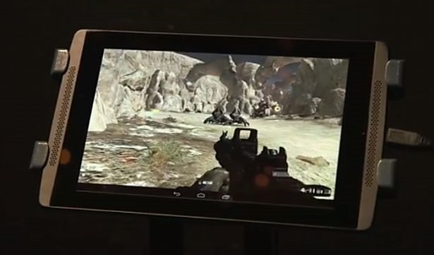 NVIDIA、次世代プロセッサ『Tegra K1』搭載リファレンスタブレットを披露
