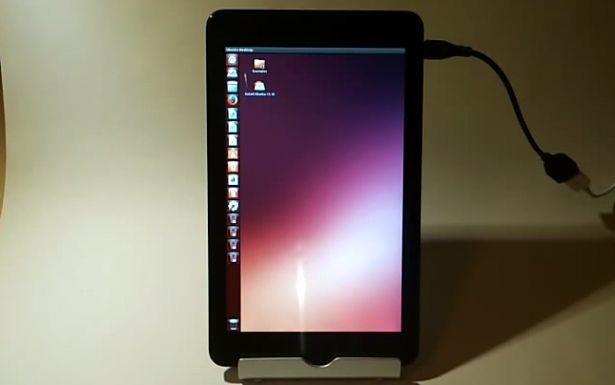 Venue 8 Proで『Ubuntu』をUSBメモリから起動する動画