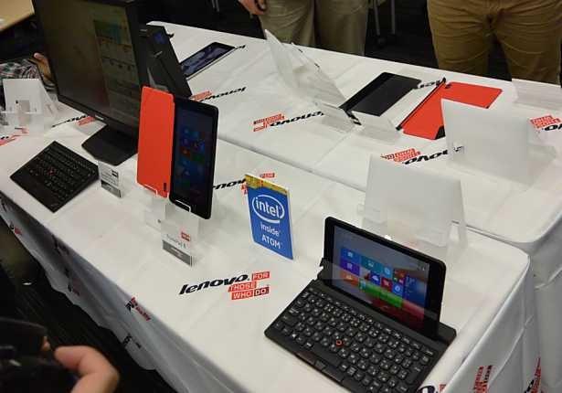 レノボ、8.3インチWUXGA液晶『ThinkPad 8』発表―Windowsタブレット約430g