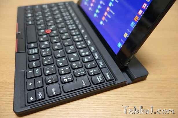 Venue 8 Pro レビュー28―ThinkPad Tablet 2 Bluetoothキーボードを試す