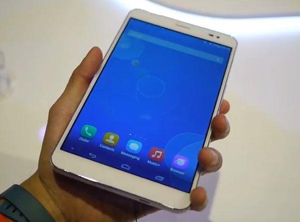 通話できるタブレット『Huawei MediaPad X1』のハンズオン動画