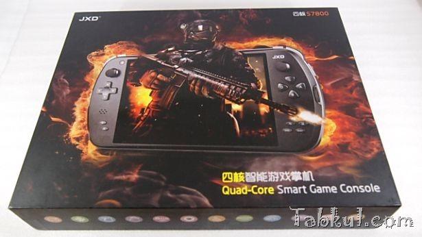ゲーム向け中華パッド『金星JXD S7800b』購入、開封レビュー―ゲーミングタブレット