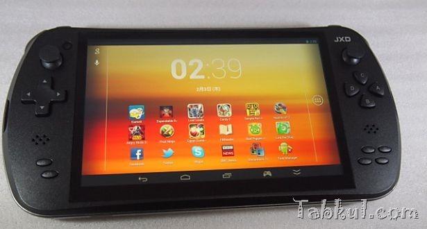 ゲーミングタブレット『金星JXD S7800b』レビュー、ストレージやタブレット情報ほか