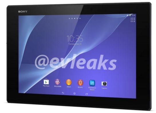 未発表『Xperia Z2 Tablet』の画像など流出―Xperia Z Tabletとスペック比較