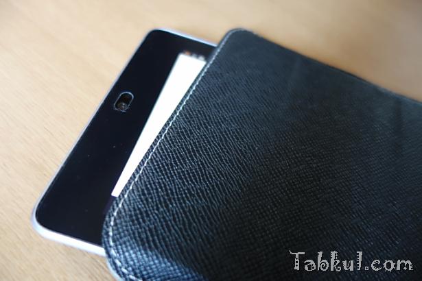 Nexus 7 (2012) でソフトケース『CLUTCH FIT mini』を試す―スリープは使えるか
