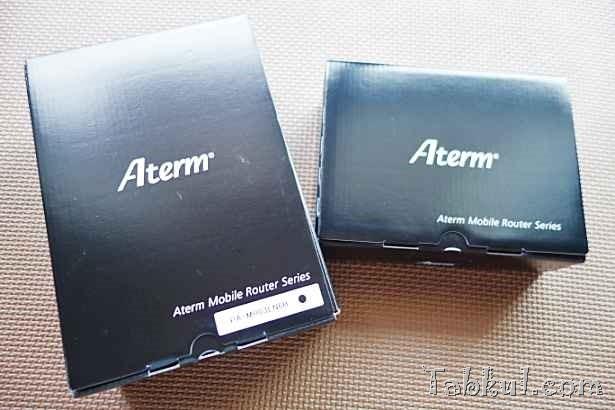 格安SIMカード用ルーター『Aterm MR03LN』とクレードル「EX03C」を購入、開封レビュー