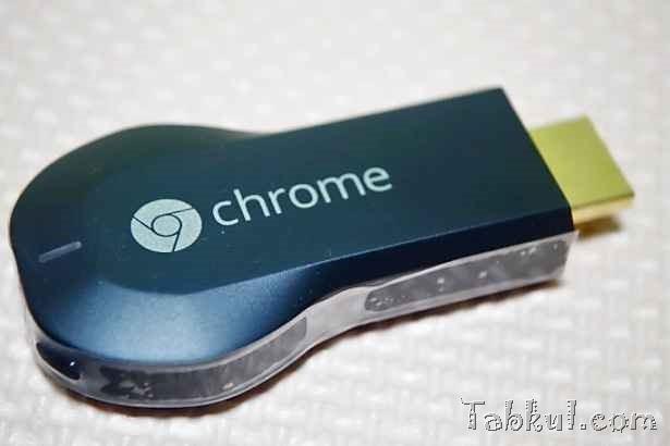 『Chromecast』の初期設定~スマートフォンで動画視聴レビュー
