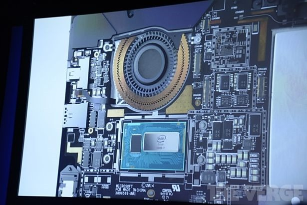 Surface Pro 3 のファン最大回転時56dBの騒音レベル