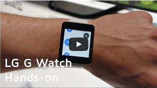 スマートウォッチ『LG G Watch』ベータ版のハンズオン動画・レビュー