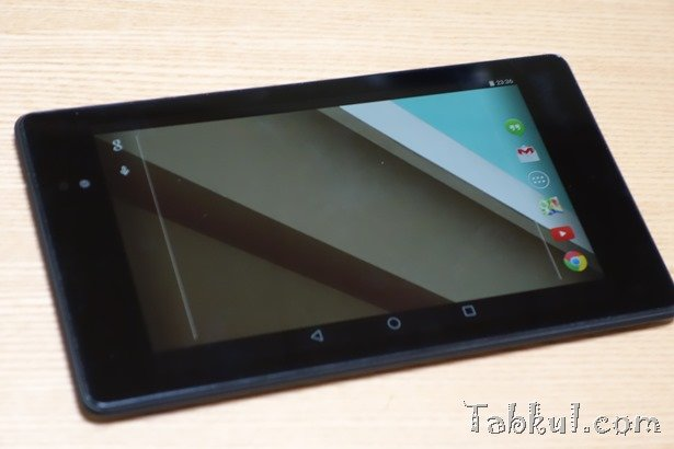 Android L PreviewファクトリーイメージをNexus 7 2013にインストールする方法