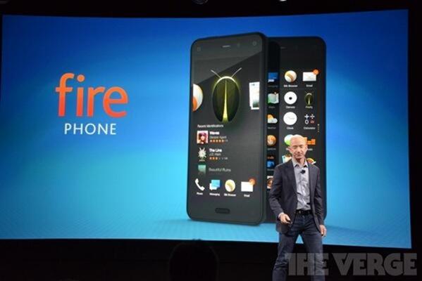 Amazon、スマートフォン『Fire Phone』発表―スペックほか(ライブブログ)