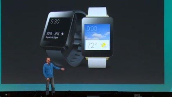 スマートウォッチ「LG G Watch」「Samsung Gear Live」本日発売、Google Playで販売