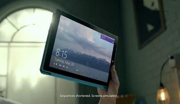 Microsoft、Surface Pro 3のCMメイキング動画を公開