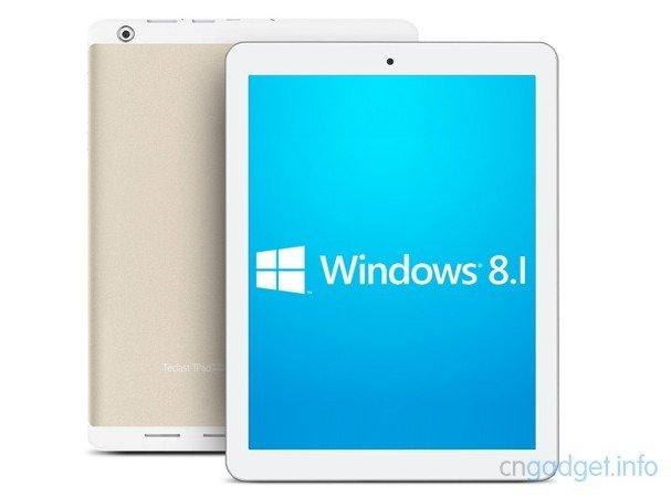 Androidタブレット3機種でWindows 8.1をインストールできるファームウェア登場