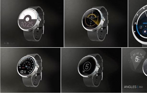 moto 360 画面デザインTop10が発表される